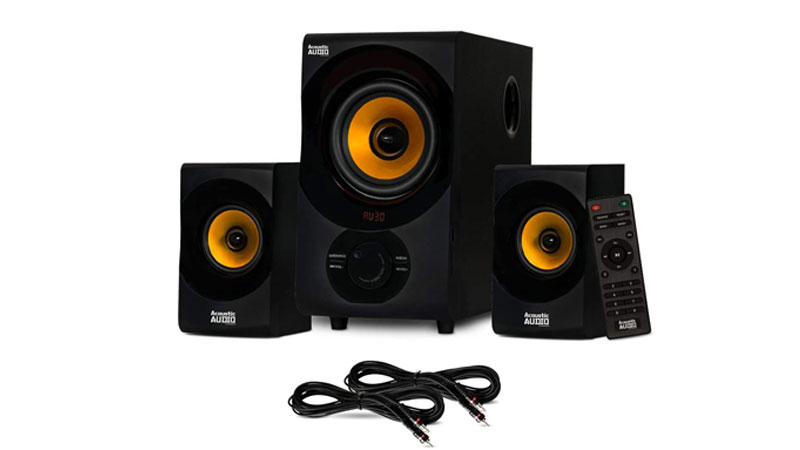 Acoustic Audio AA2170 Bluetooth 2.1 Home Speaker System